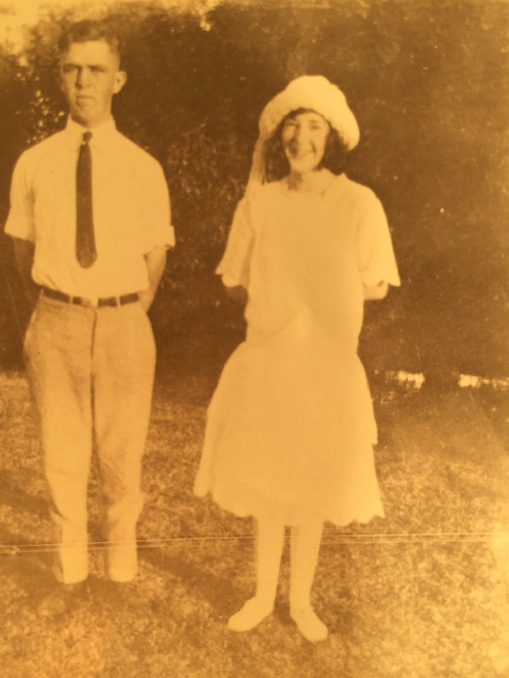 Earl Gray Swenson and Evelyn Swenson