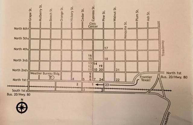 Walking Map Tour