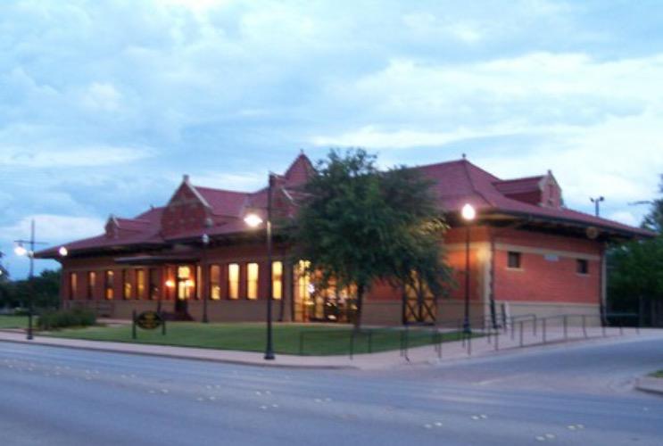"""T&P Passanger Depot Abilene """"Convention & Vistors Bureau"""""""