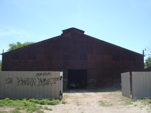 Old Trolly Car Barn