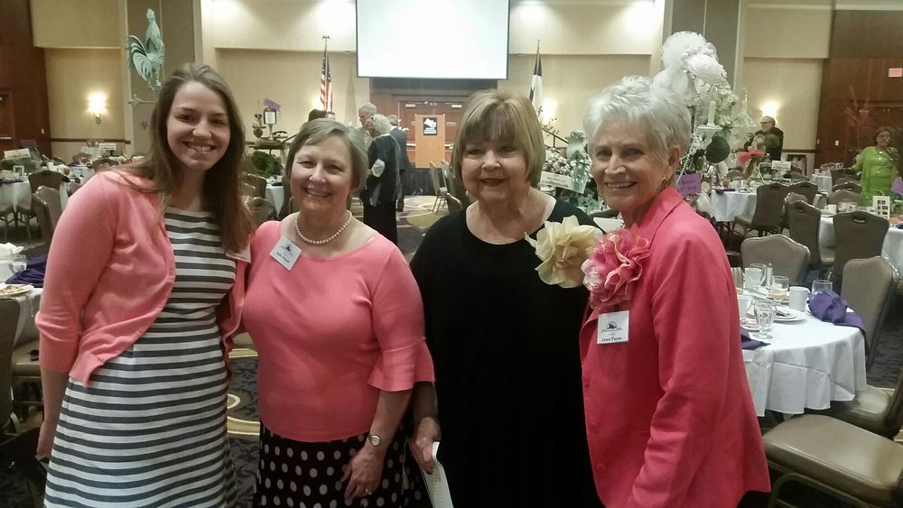 2017 Hope Wegrzynow, Julie Folwell, Audrey Perry & Janet Payne