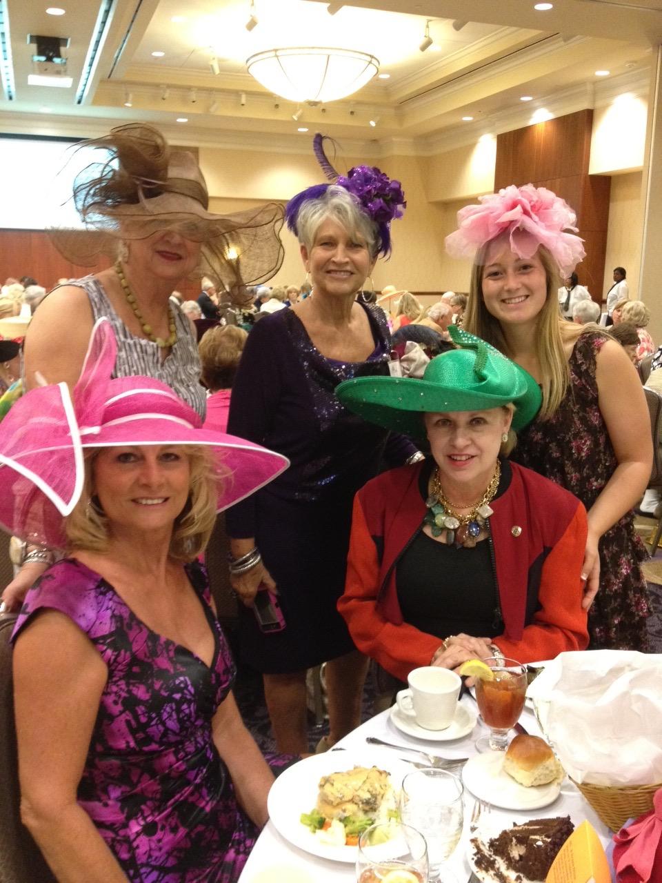 2012 Tonya Harden, Dottie Lou Norwood, Janet Payne, Susan King & Kayli Denson