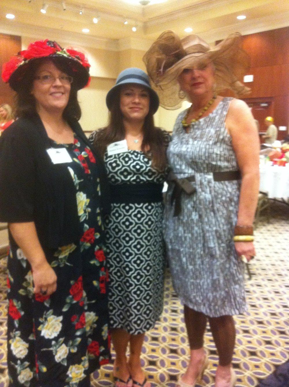 2012 Terri Barnes, Janine Estrella & Dottie Lou Norwood
