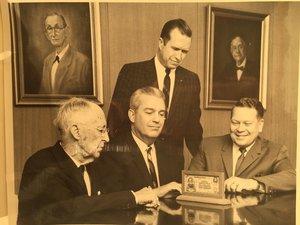 WG Swenson on the left