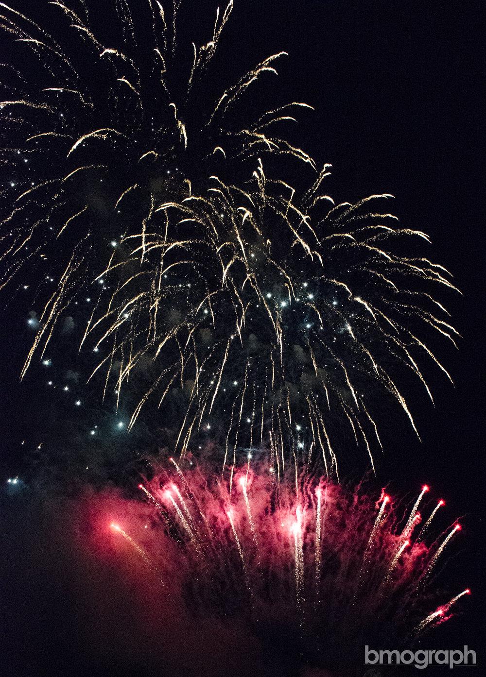 Braemar Day Fireworks - River Ericht