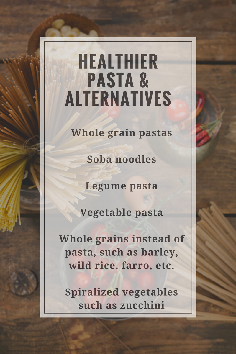 Healthier Pasta