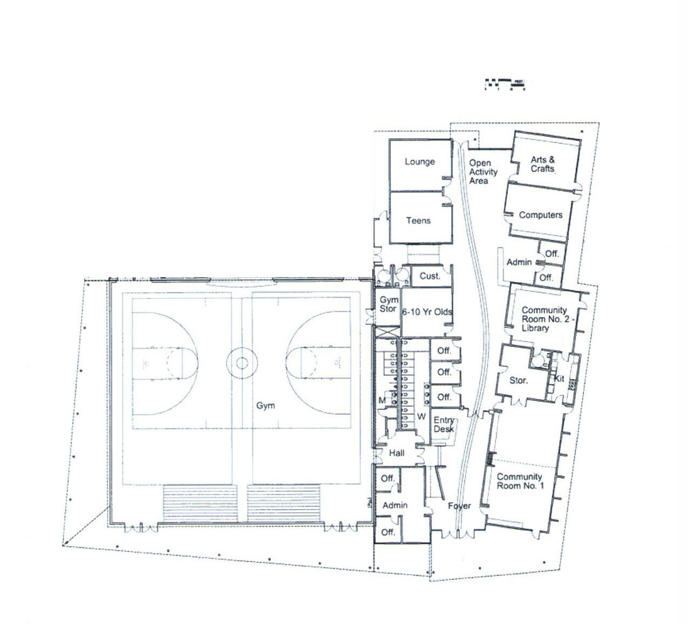 The ARRC floorplan