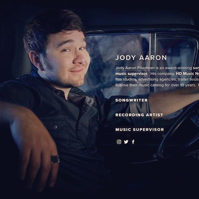 "http://www.jodyaaron.com  Check out the new ""Jody Aaron"" website!  #songwriter #recordingartist #musicsupervisor  Cover Photo courtesy of Johan Johanson from https://johanclicks.tumblr.com"
