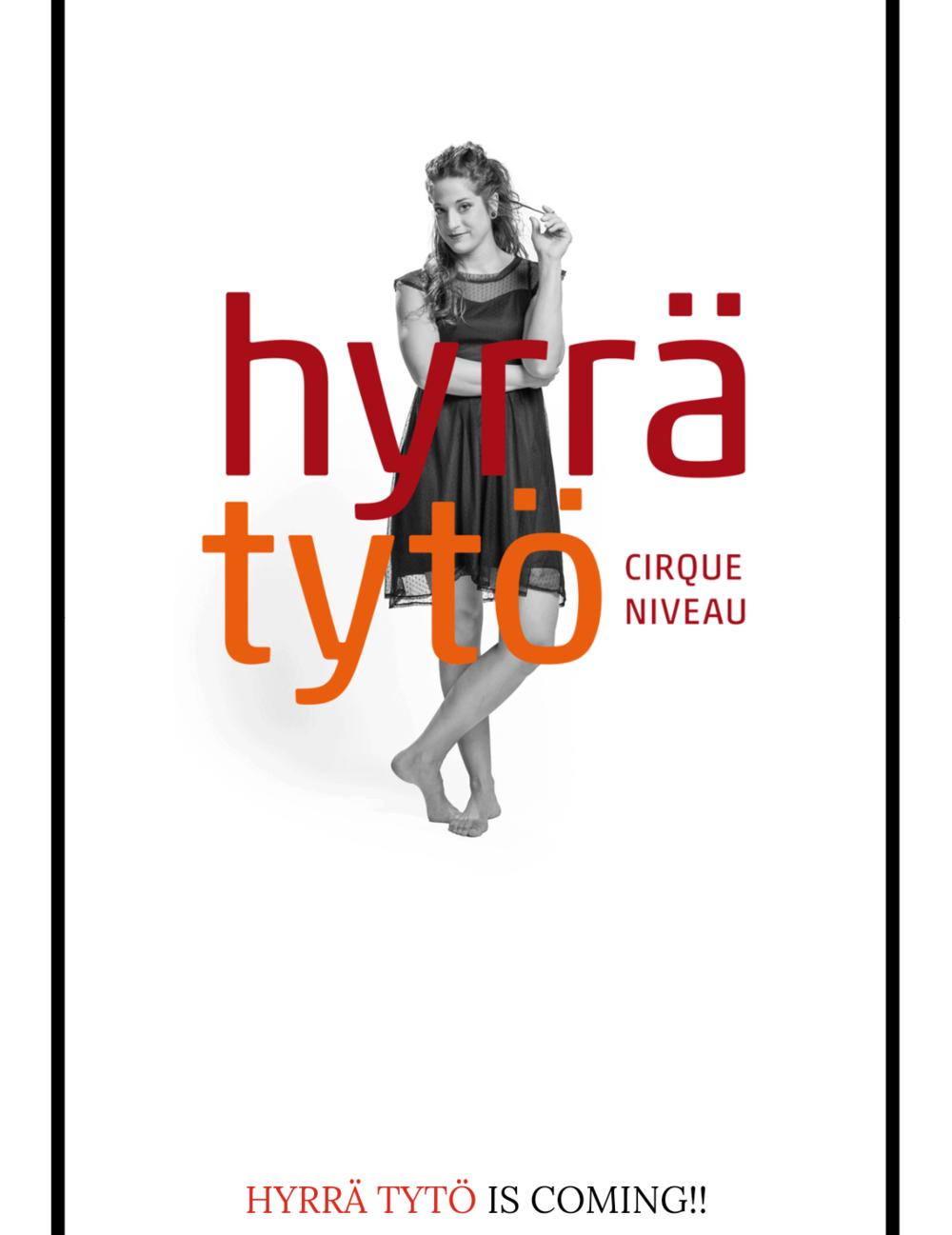 """Copy of Locandina dello spettacolo """"Hyrrätyto"""", Germania 2015"""