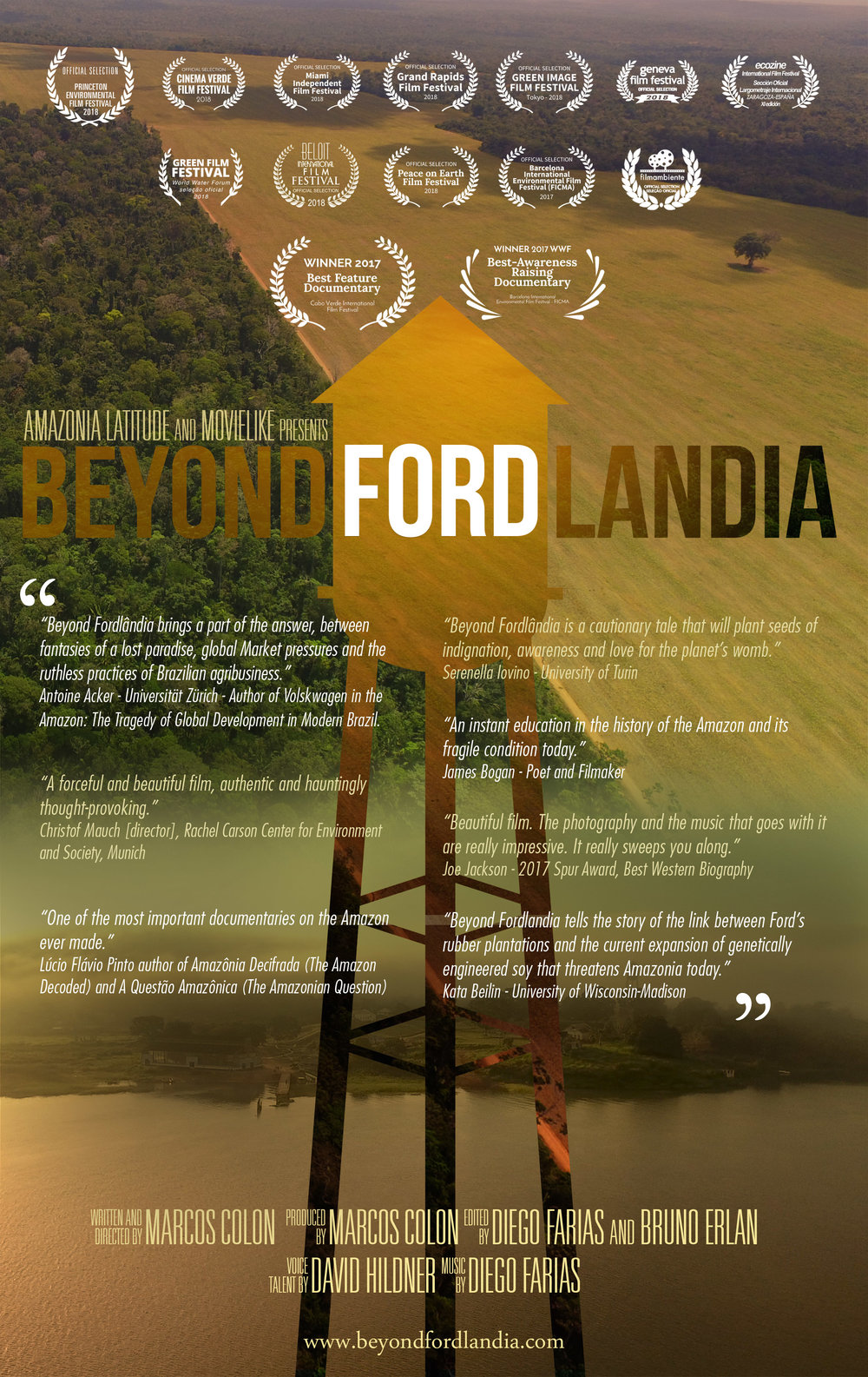 Official  Beyond Fordl  ândia  Film Poster