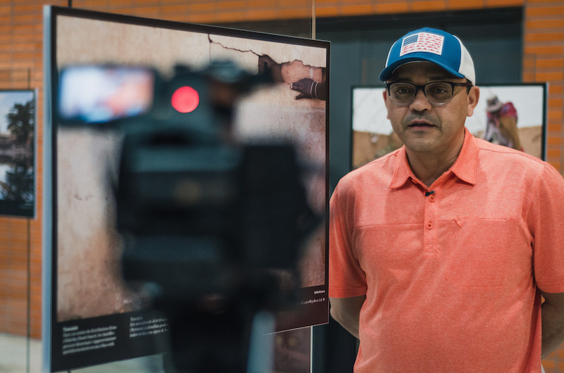 Interview with the director of Beyond Fordlândia, Marcos Colón, in the day of the screening.