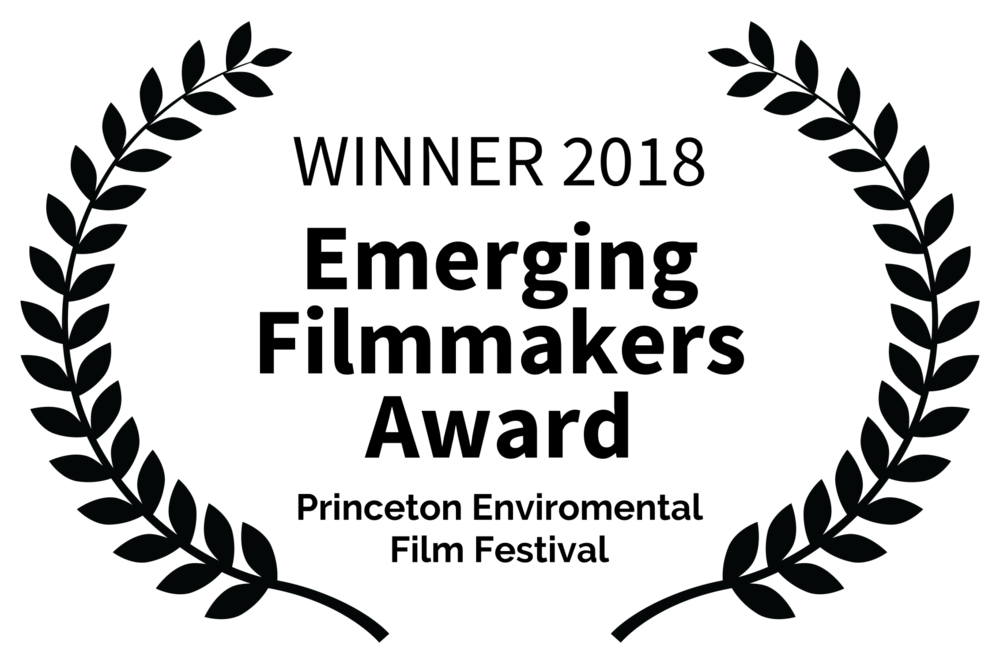 WINNER 2018 - Emerging Filmmakers Award - Princeton Enviromental Film Festival.png