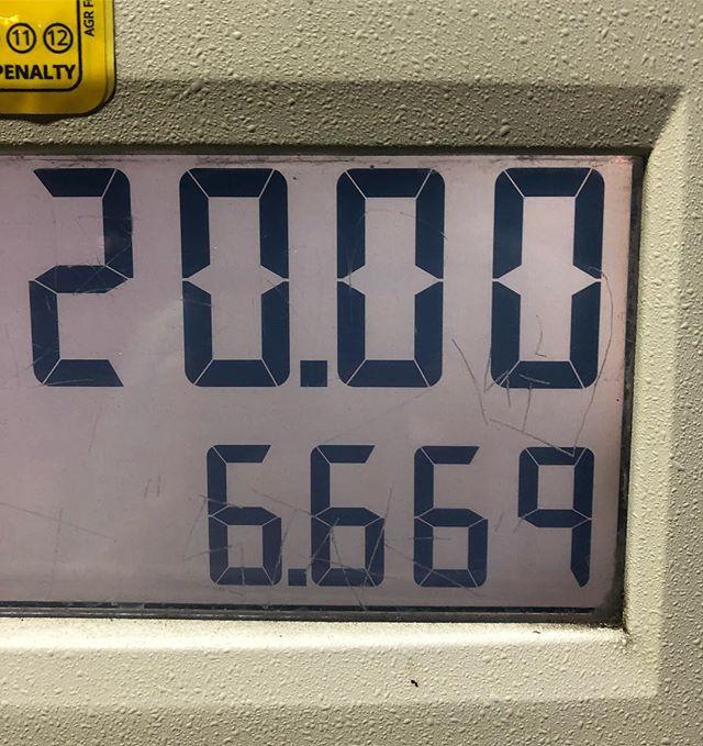 Demon gas pump. 👹⛽️ #gas #wickedshallows #pdx #arco