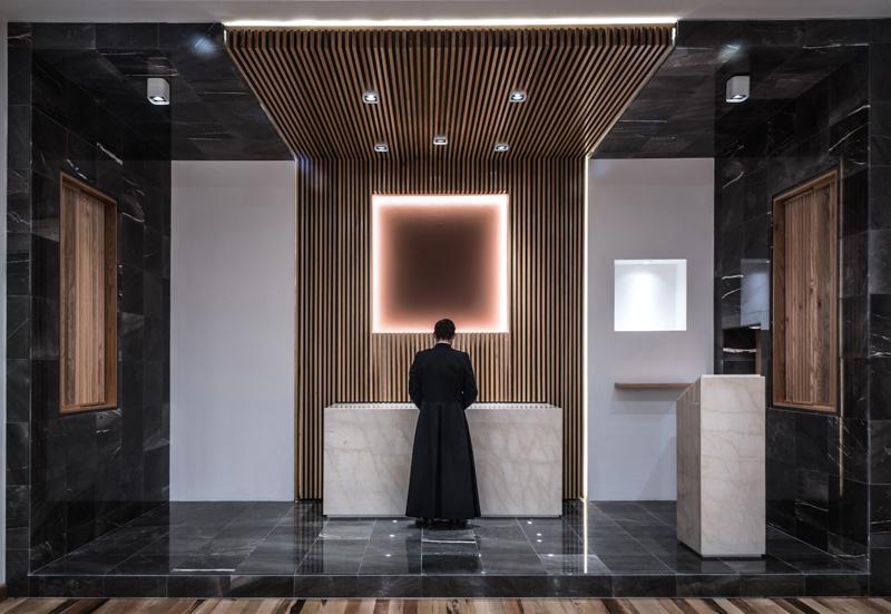 Oratorio Opus Dei / DHD Arquitectos