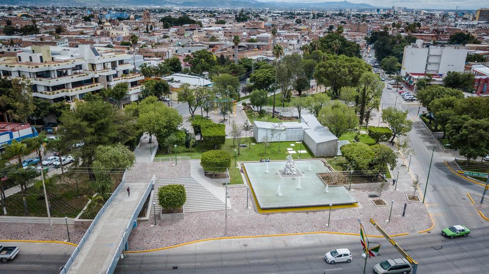 Parque Hidalgo / Taller 5