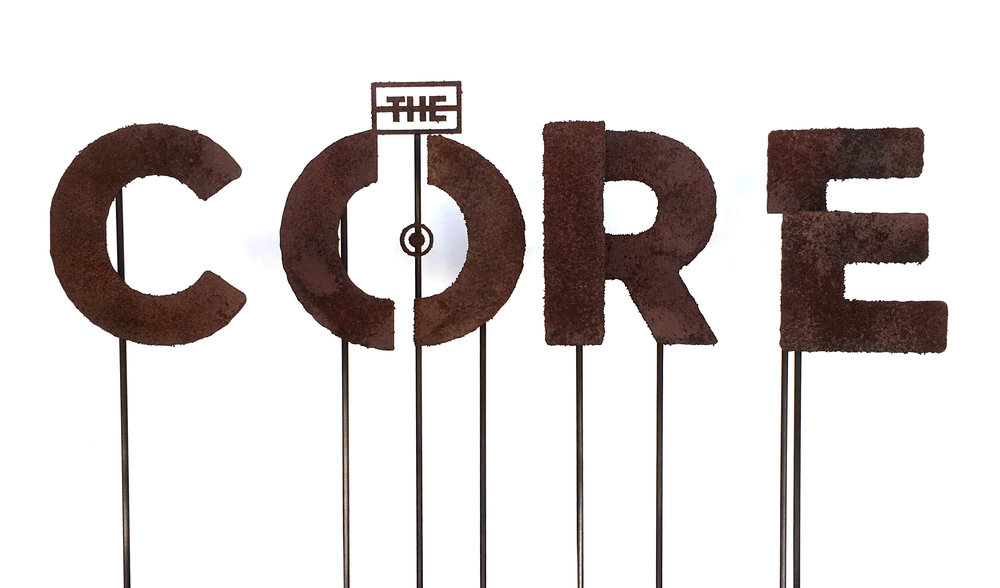 The Core Lettering-Rusted.jpg