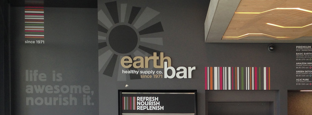 Earth Bar Signage and Menu.jpg