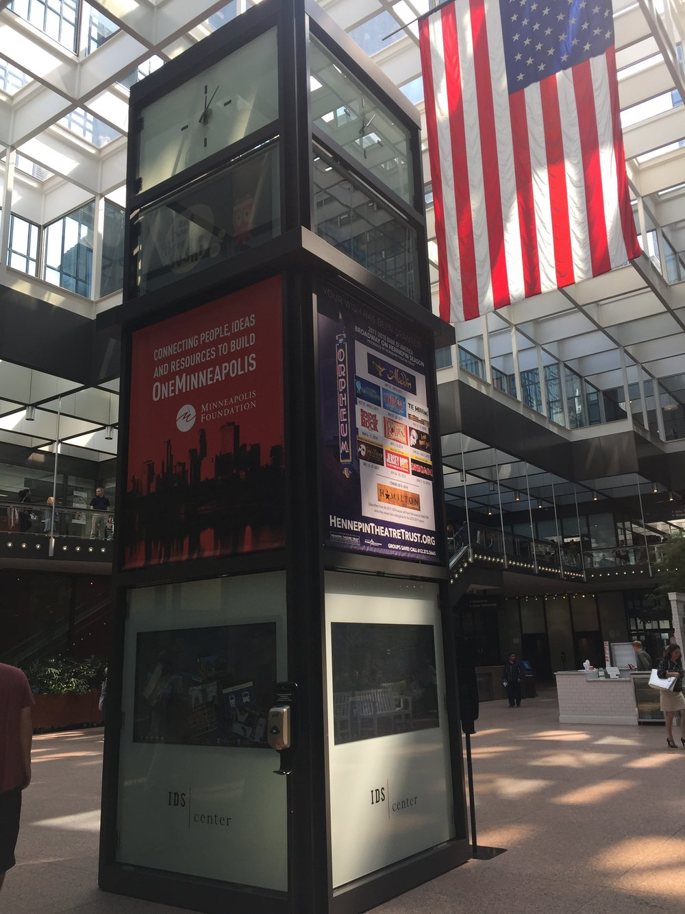 Copy of A underutilized kiosk within the IDS center.