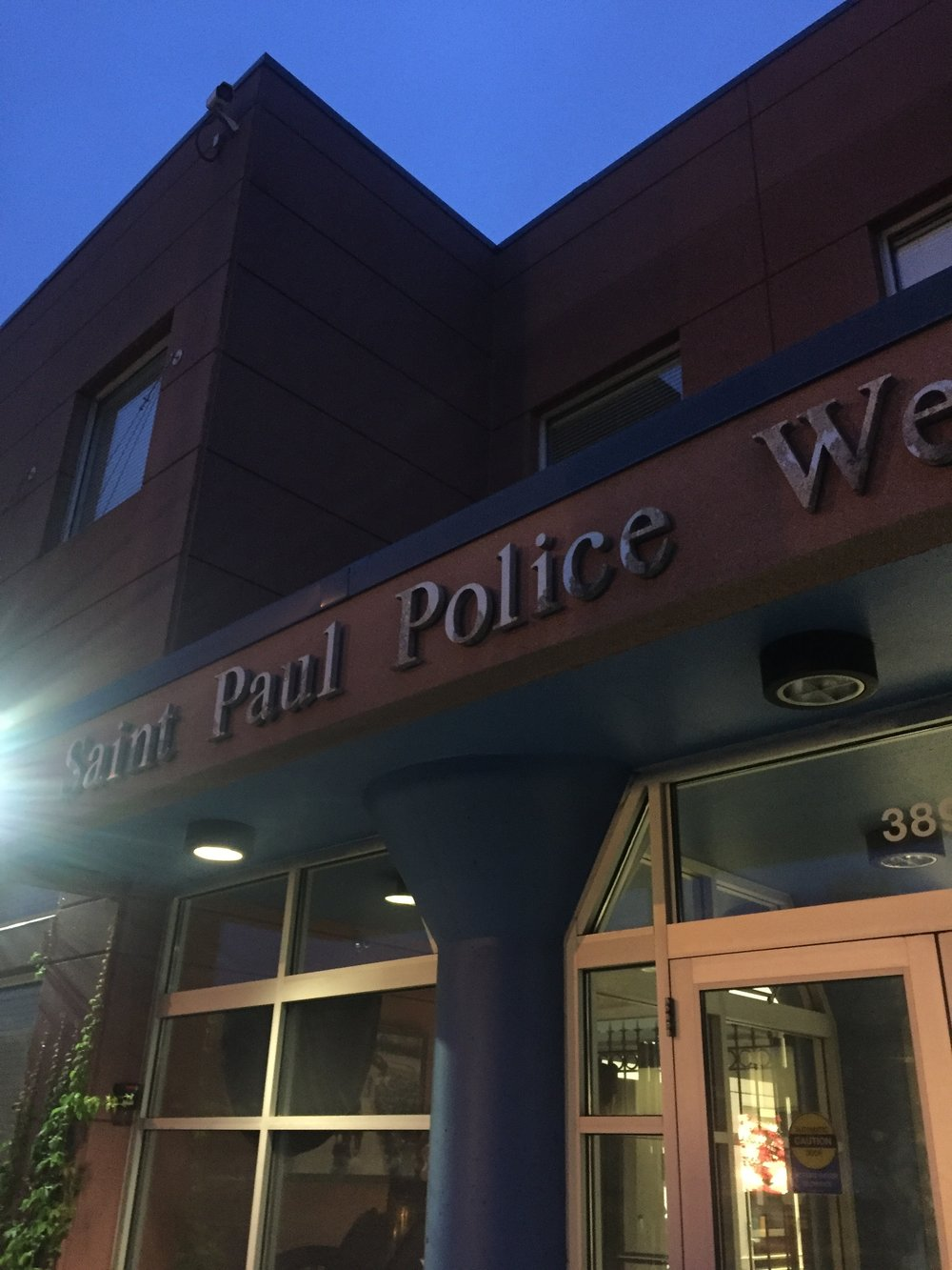 We got the chance to attend roll call at St. Paul PD.