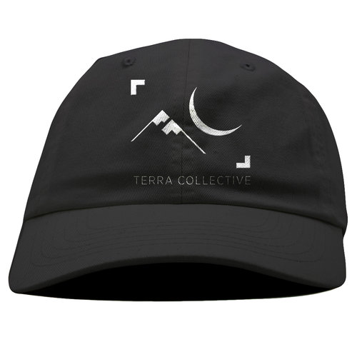 Moon   Mountain Dad Hat — Terra Collective 07c587c75ce