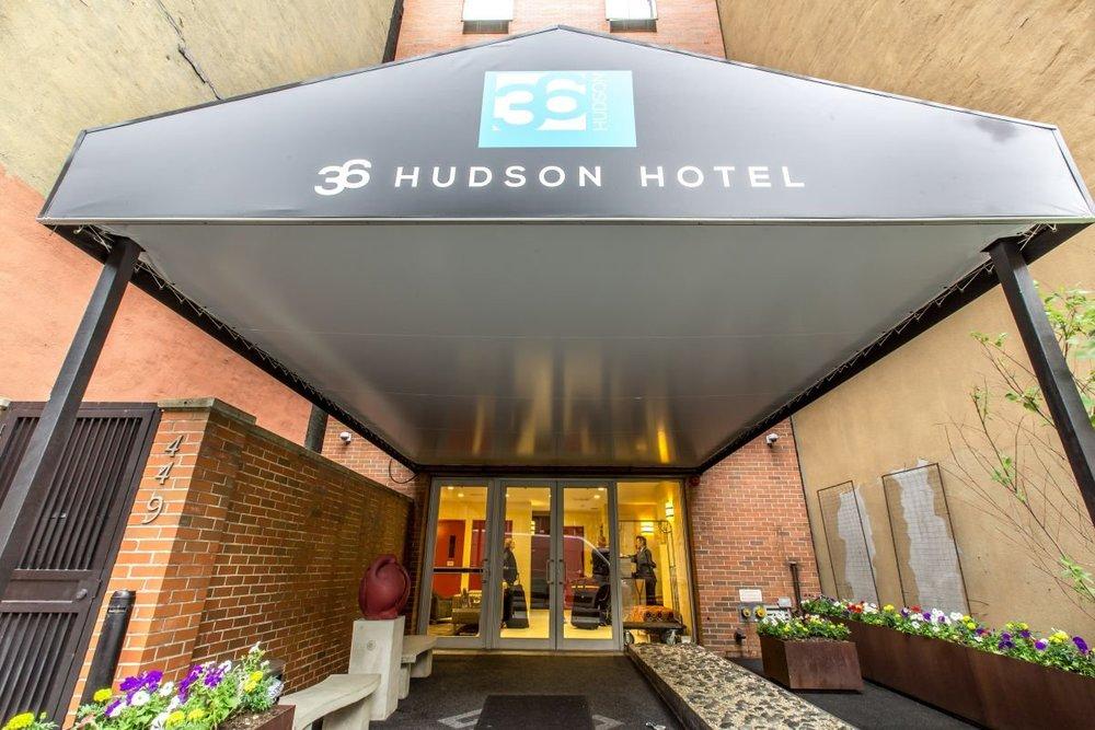 36 Hudson Hotel  449 W 36th Street  website