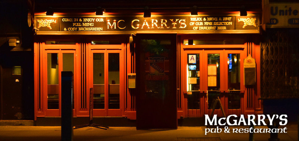 McGarry's Bar & Restaurant  417 9th Avenue   website