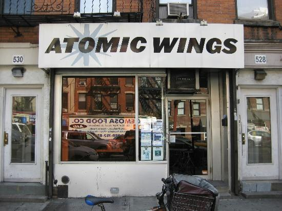 Atomic Wings  528 9th Avenue   website