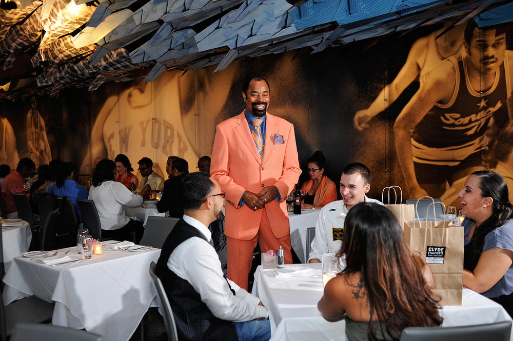 Clyde Frazier's Wine & Dine  485 10th Avenue  website