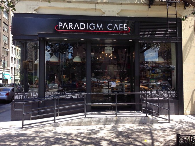 Paradigm Cafe  465 9th Avenue  website