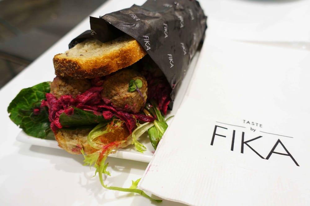 FIKA Café  114 W 41st Street  website