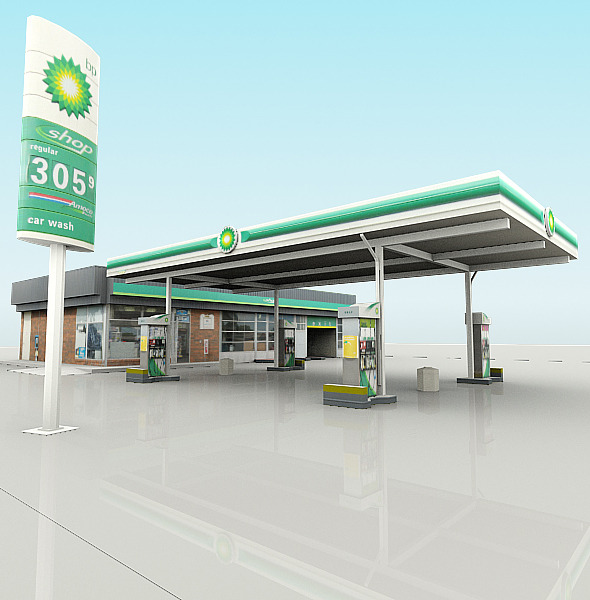 BP Gas Station  466 10th Avenue