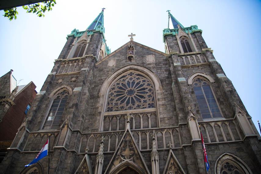 Croatian Church New York  502 W41st Street  website