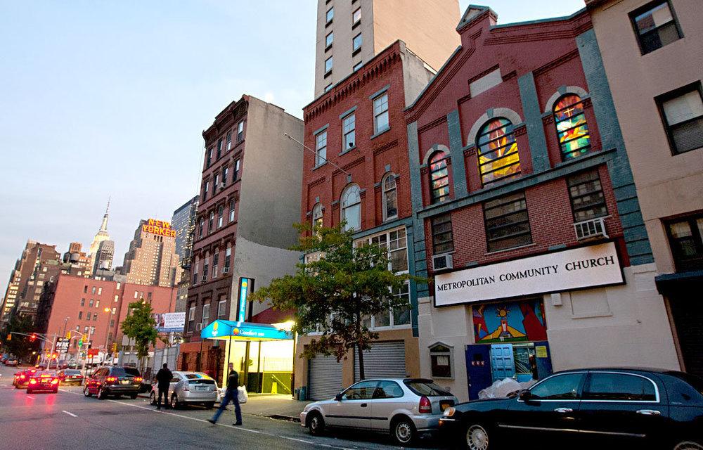 Metropolitan Community Church of NY  446 W36th Street  website