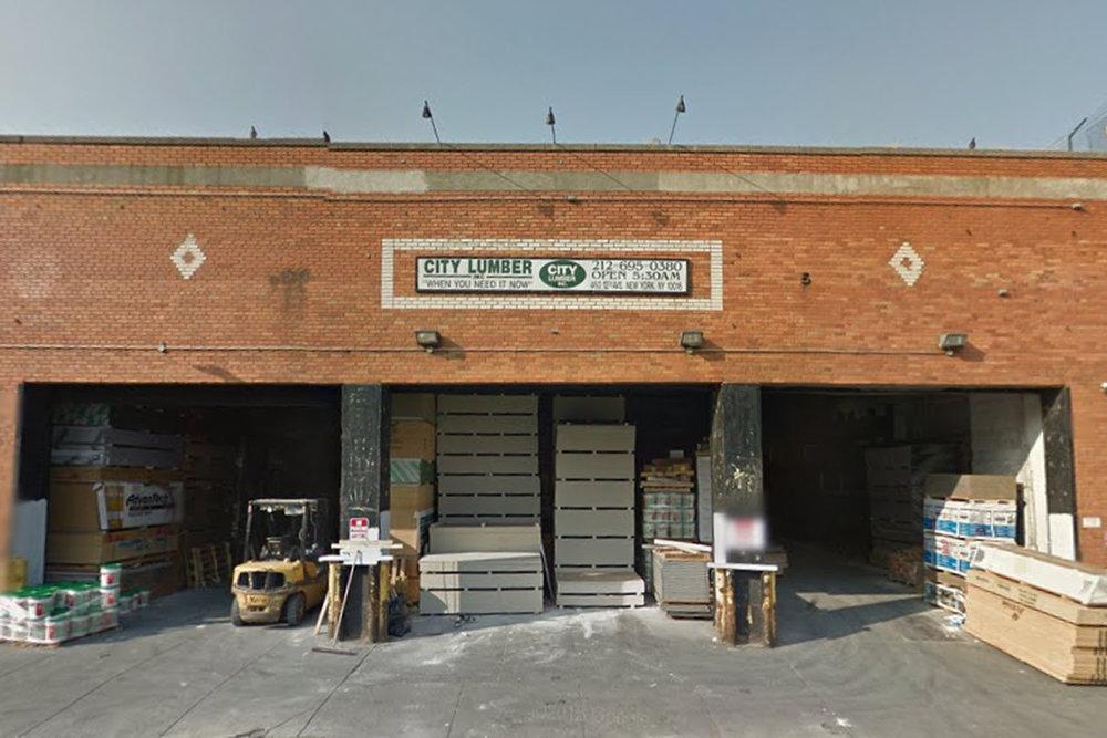 City Lumber  550 W 37th Street  website