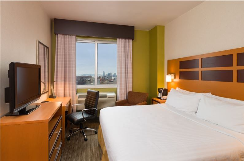 Holiday Inn Express Times Square  343 W 39th Street   212-239-1222   Book rooms at 15% off best available rates !