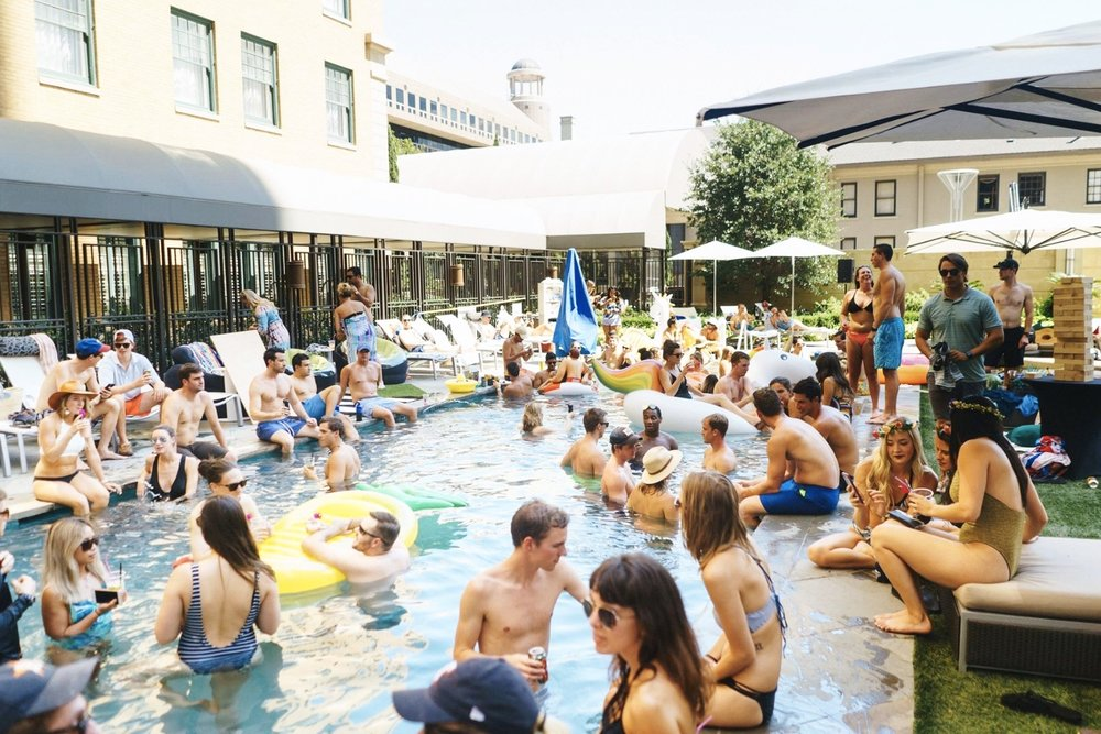 Sunday Funday Stoneleigh Pool Party