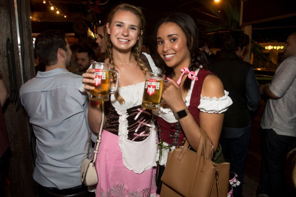 1st Annual Dallas Oktoberfest on Henderson Ave 9.29.17
