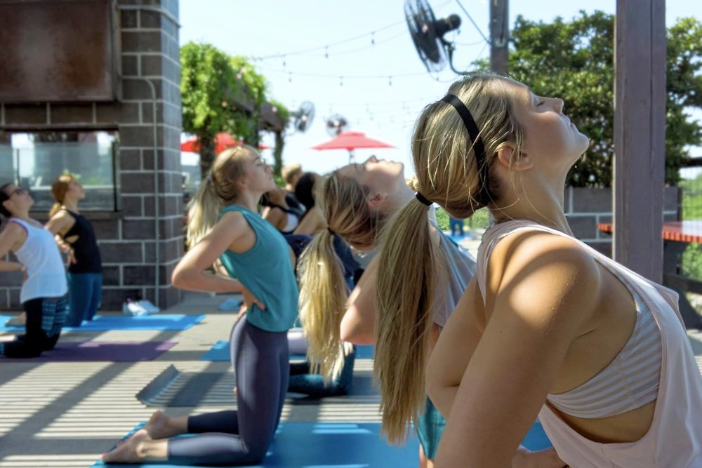 Yoga on the HG Rooftop   7.1.18