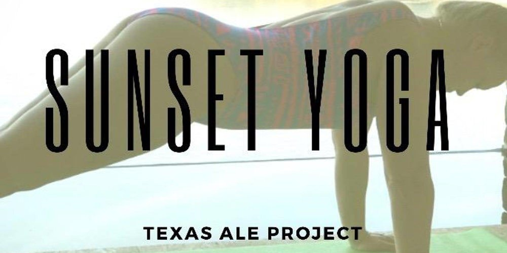 Join Dallas Iron Fitness and their instructor Mitch Lazorko for a 1 hour yoga session as the sun sets. Tickets include 1 beer provided by Texas Ale Project.    Tickets $15.   Bring your yoga mat
