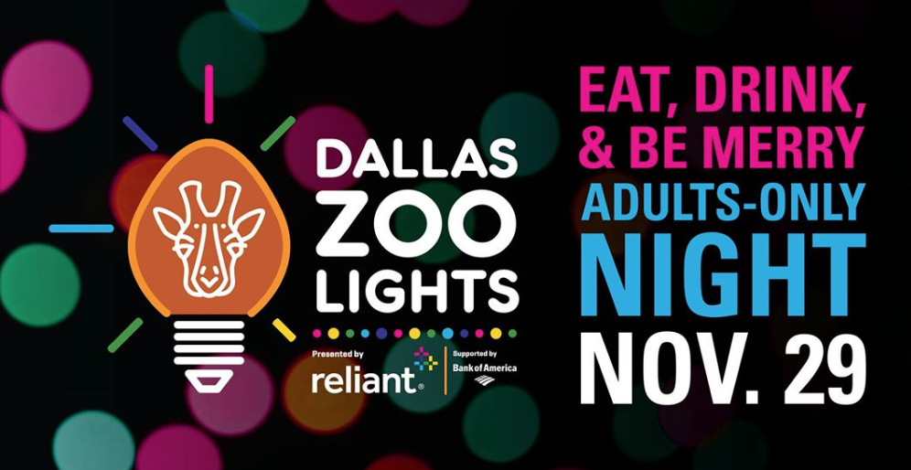 Dallas Zoo Lights Adults Only Night Dallasites101