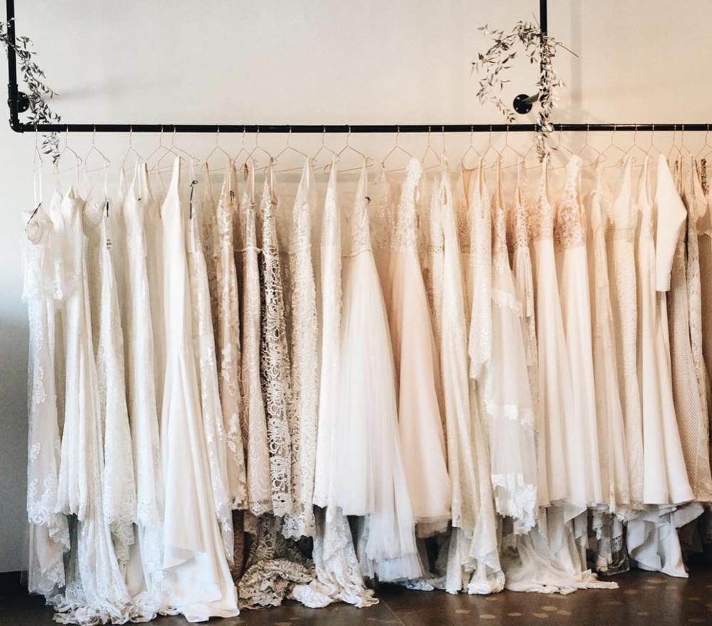 Photo courtesy of A&BE Bridal Shop