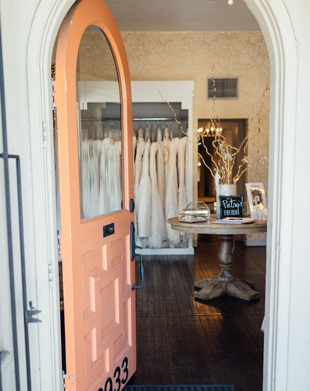 Photo courtesy of Patsy's Bridal