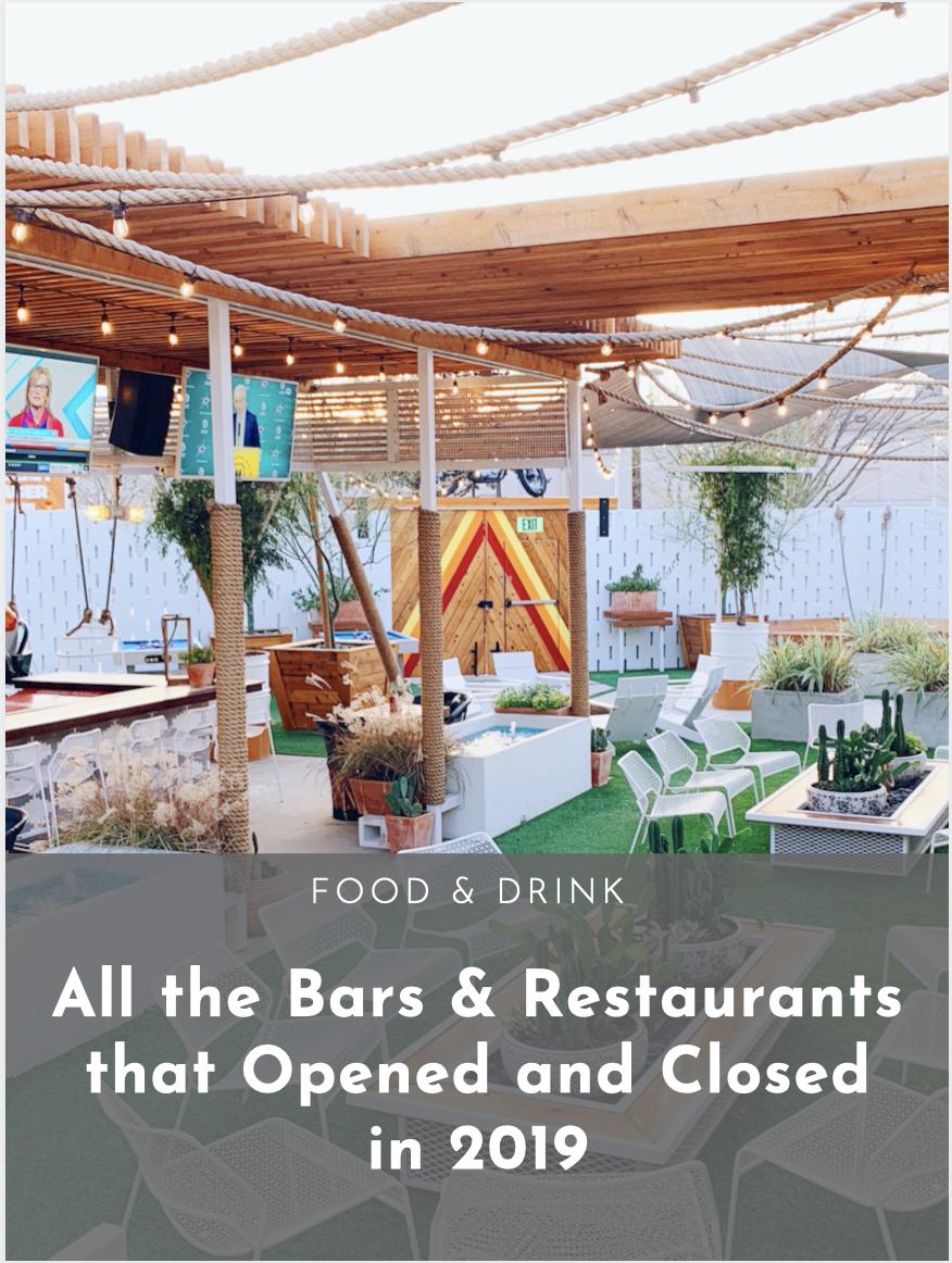 2019 Dallas Restaurant Openings, Closings and Coming Soons