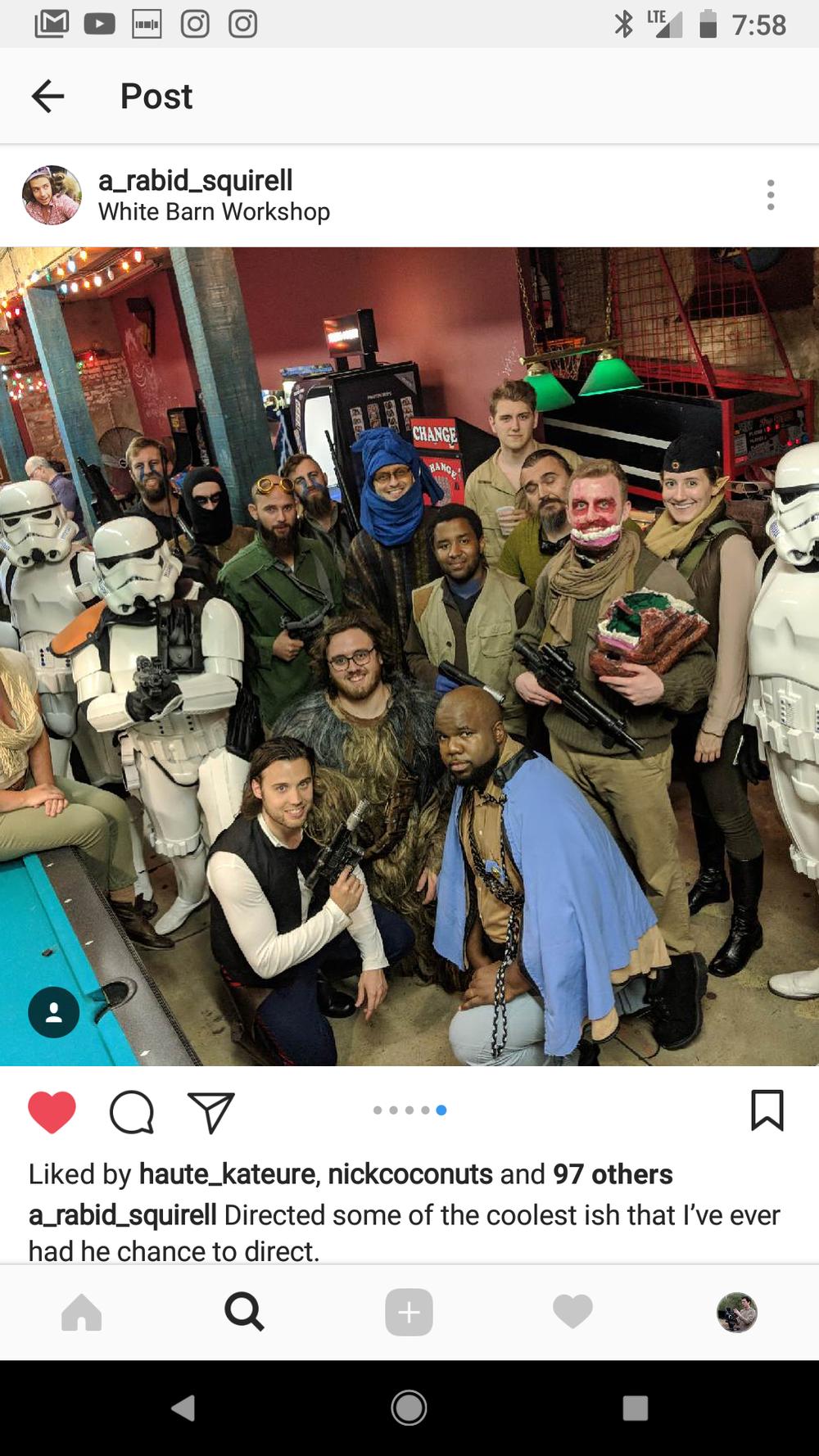 Cast Crew Photo