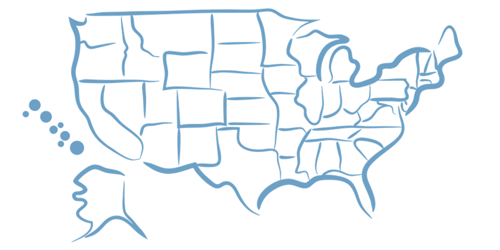 Outline of the United States.