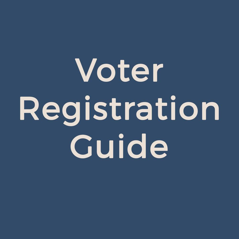 Voter Registration Guide
