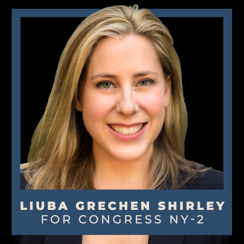 Indivisible endorses Liuba Grechen Shirley for Congress (NY-2)