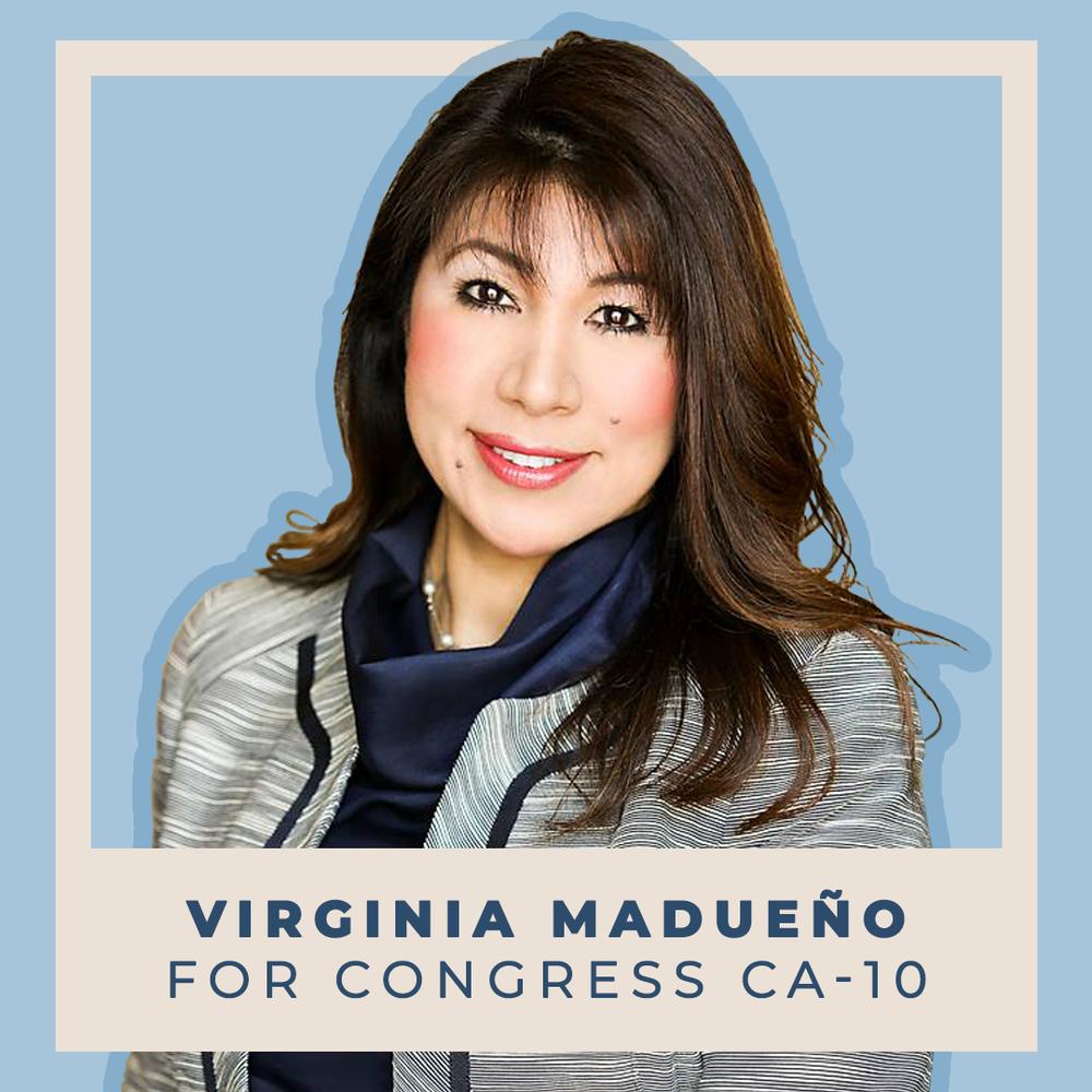 Indivisible Endorses Virginia Madueño for Congress (CA-10)