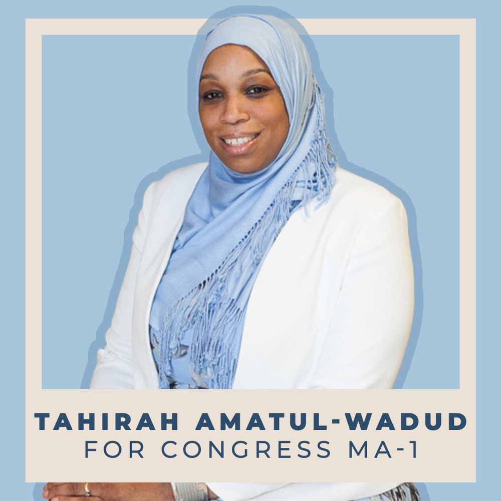 Tahirah Amatul-Wadud for Congress MA-01