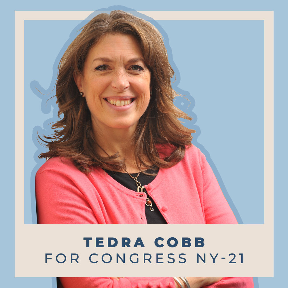 Tedra Cobb for Congress NY-21